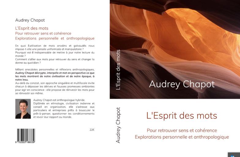 Audrey Chapot : «L'esprit des mots», pour retrouver du sens et changer la donne au quotidien.