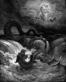 La destruction du Léviathan (1865) - Gustave Doré