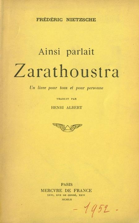 Nietzsche ou l'éternel retour