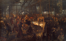 Cyclope Moderne - L'usine vue par le peintre Adolph von Menzel